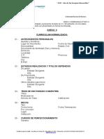 Curriculum Normalizado Ord 033-13-3