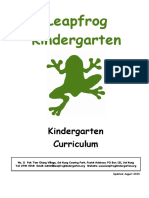 Curriculum New August 2015-2016