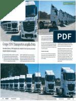 Sociedade Comercial C. Santos aumenta frota do Grupo TDN Transportes