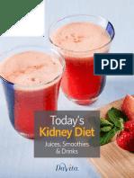 Todays Kidney Diet Juices Smoothies