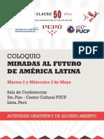 Coloquio Peru CLACSO 50a Programa