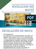 Revólucion de Mayo