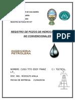 Registro de Hidrocarburo Ncv