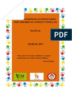 WcD India -  Manual on Living conditions in Institutions for Children in conflict with Law_Final Manual 24 April 2017_5