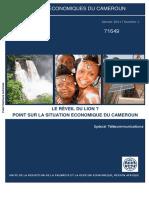 Cahier Economique Du Cameroun Vol1