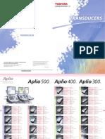 Toshiba Medical Ultrasound Transducers