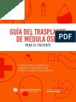 Guia del trasplante de medula osea para el paciente.pdf