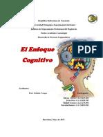 Trabajo I de Desarrollo de Procesos Cognoscitivos