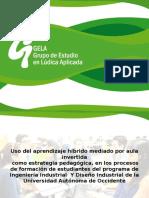 Diapositivas GELA PI- Aula Invertida