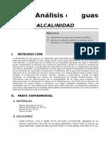 Determinacion de Alcalinidad