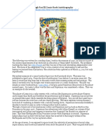 Hugh Fox III Comic Book Autobiography