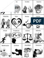 45. Vocabulario de Pecados y Virtudes