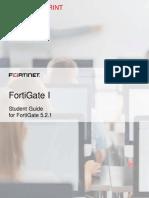 FortiGate I Student Guide-Online 5-2-1