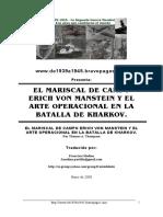 Manstein Estrategia Jarkov. PDF