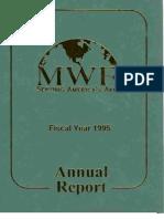 FMWRC Annual Report 1995