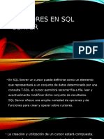 Cursores en SQL Server