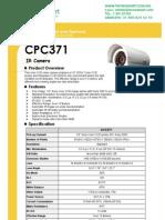 camara bullet CPC371 Spec