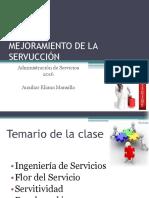 Mejora Del Diseño Del Servicio