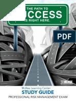 Professional Risk Management Exam (PRM) Study Guide