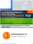 Social Influence and Change