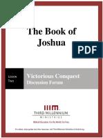 The Book of Joshua – Lesson 2 – Forum Transcript