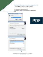 Guía Para La Instalación Del Sistema de Asistencia Por Huella (1)
