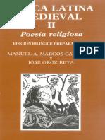 Lirica Latina Medieval II Poesia Religiosa