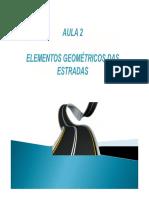 Aula2 Elementos Geometricos Das Estradas