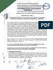 Acta de Presentación y Evaluación de Propuestas - Reconstrucción I.E Usnio