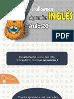 ● Aprender Inglês Com Halloween Aula 20 | English Channel PDF ✔