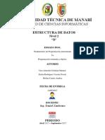 Programación Orientada a Objetos VS Programación Estructurada