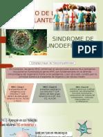 Diapositivas Rechazo y Sindrome de Inmunodefeciencia x