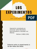 Los Experimentos en la investigación social