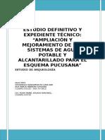 8_1_INFORME ARQUEOLOGIA PUCUSANA Estudio de Impacto Ambiental de Agua y Desague