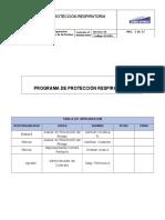 Programa de Protección Respiratoria CERRO NEVADO