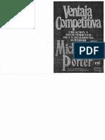 Ventaja Competitiva- Michael Porter