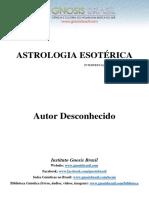 Astrologia Esotérica
