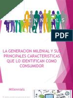 millennials consumismo