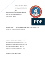 Investigación 2 - Apalancamiento Operativo y Financiero, y Su Impacto en La Gestion de Los Negocios