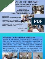 Plan de Trabajo Bolivar(Vision ,Mision)