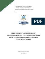Gerenciamento de Redes Tcpip Monitoramento