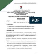 Electrónica de Potencia Práctica 4 - 2017A