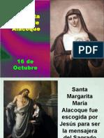 Santa Margarita Mª de Alacoque por el Pbro. Silverio Velasco