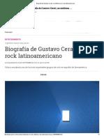 Biografía de Gustavo Cerati, un emblema en el rock latinoamericano.pdf