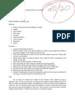 grubbs lab report