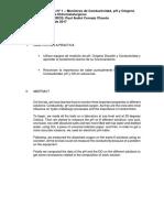 1. Conductividad, PH y Oxigeno Disuelto
