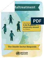 WHO Child Maltreatment Infographic En