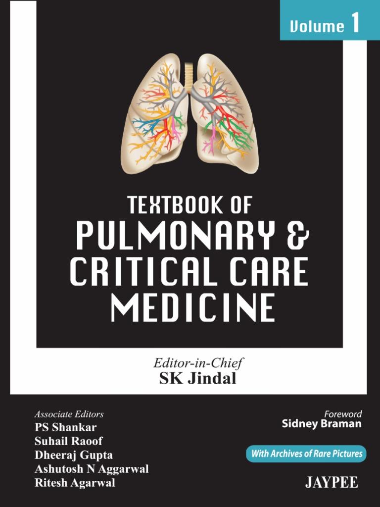 Jindal, Satish Kumar-Textbook of pulmonary and critical care