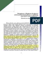 [Heleieth-Saffioti] Ontogênese e Filogênese Do Gênero 2009