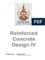 UNISA Reinforced Concrete Design Study Guide